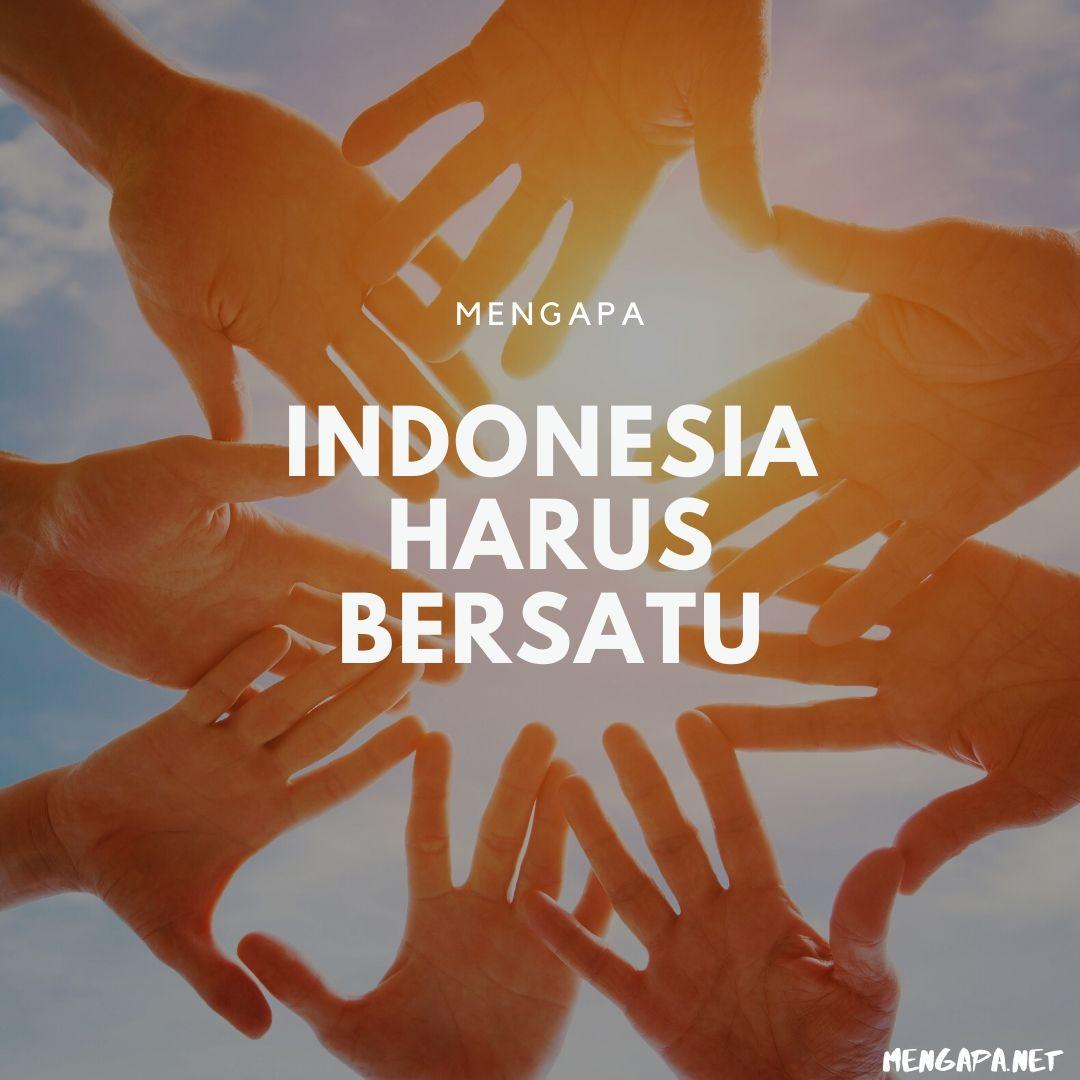 mengapa indonesia harus bersatu