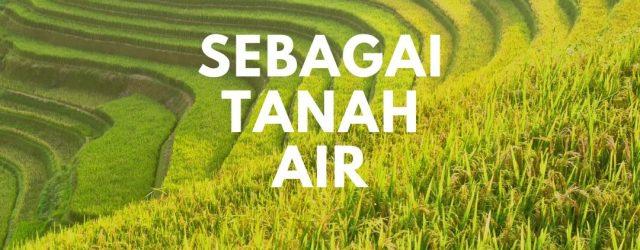 mengapa indonesia sering disebut sebagai tanah air
