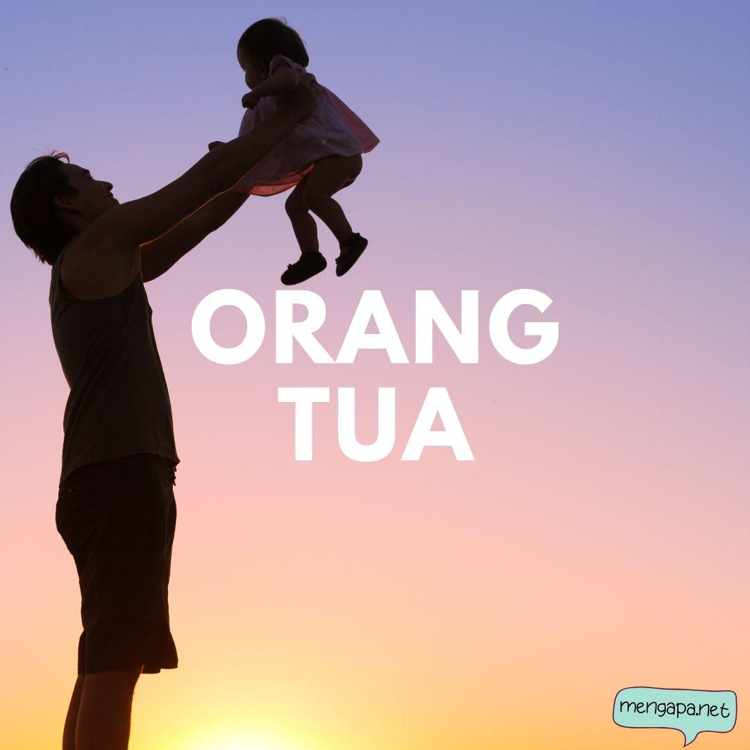 penulisan yang benar orang tua atau orangtua