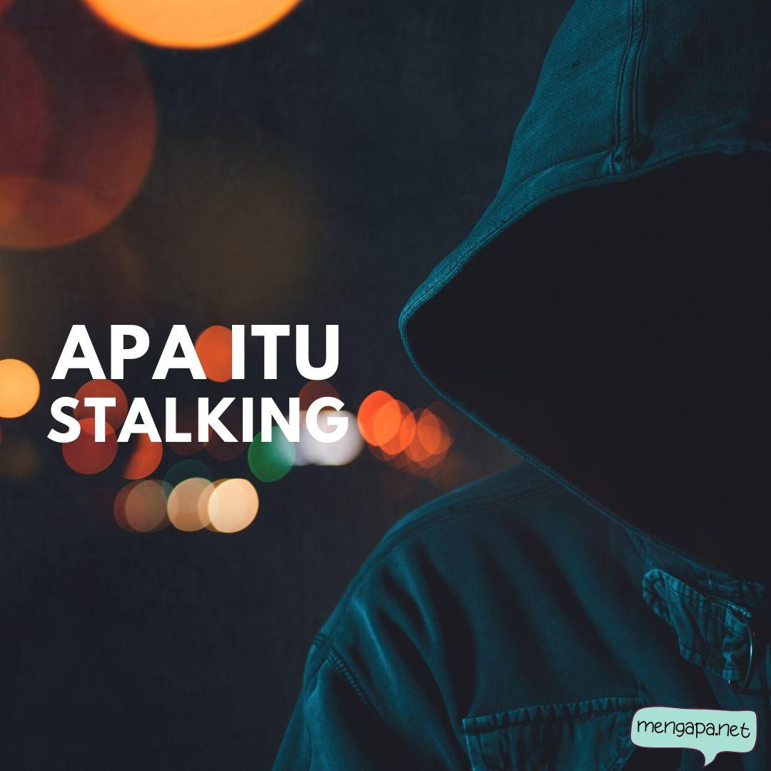 apa itu stalking artinya - arti stalking adalah