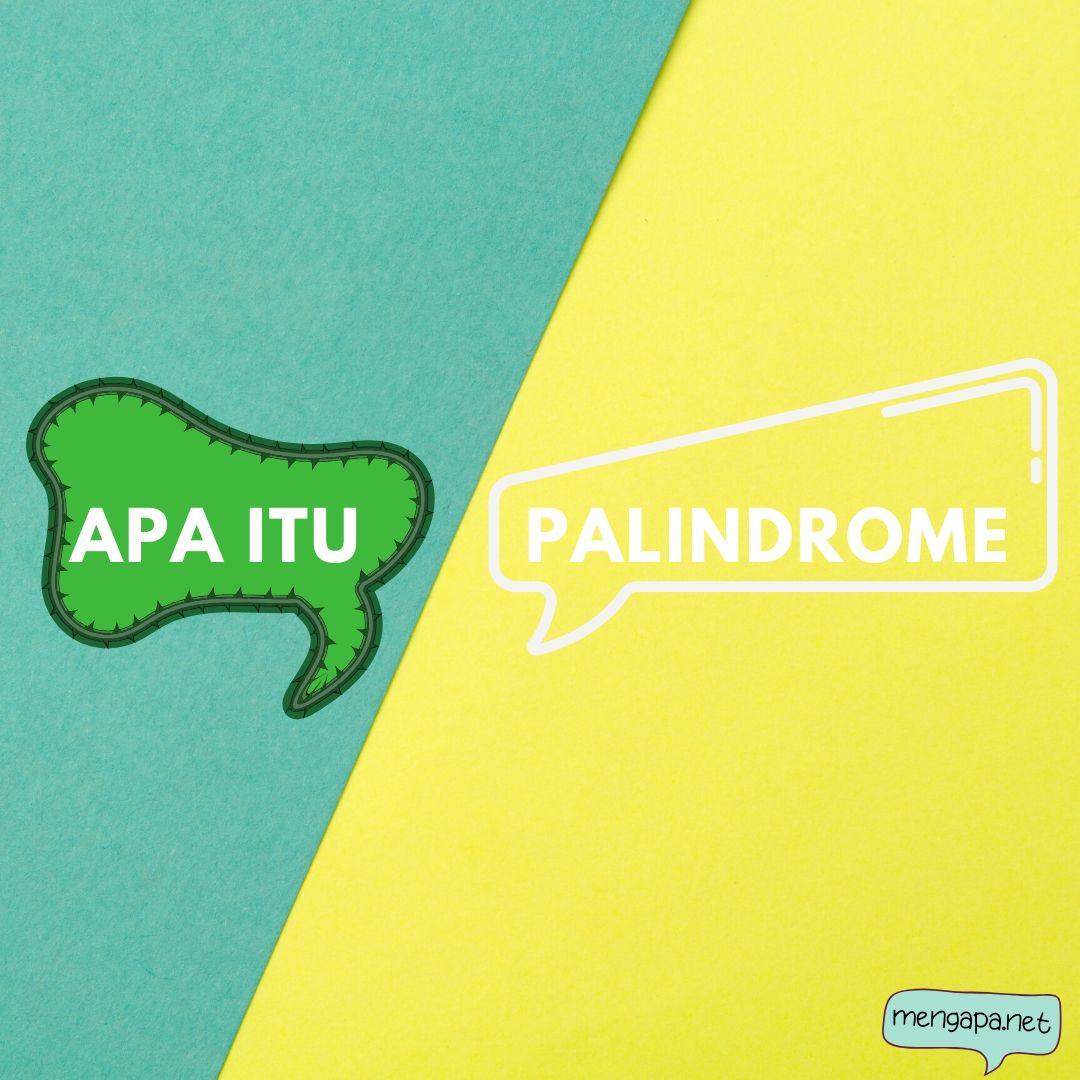 apa itu palindrome artinya - arti palindrome adalah
