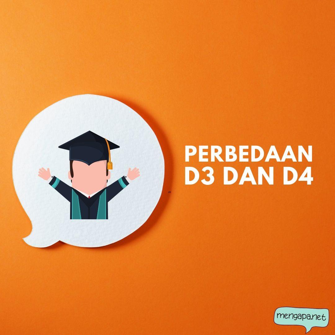 perbedaan d3 dan d4 - bedanya d3 dan d4