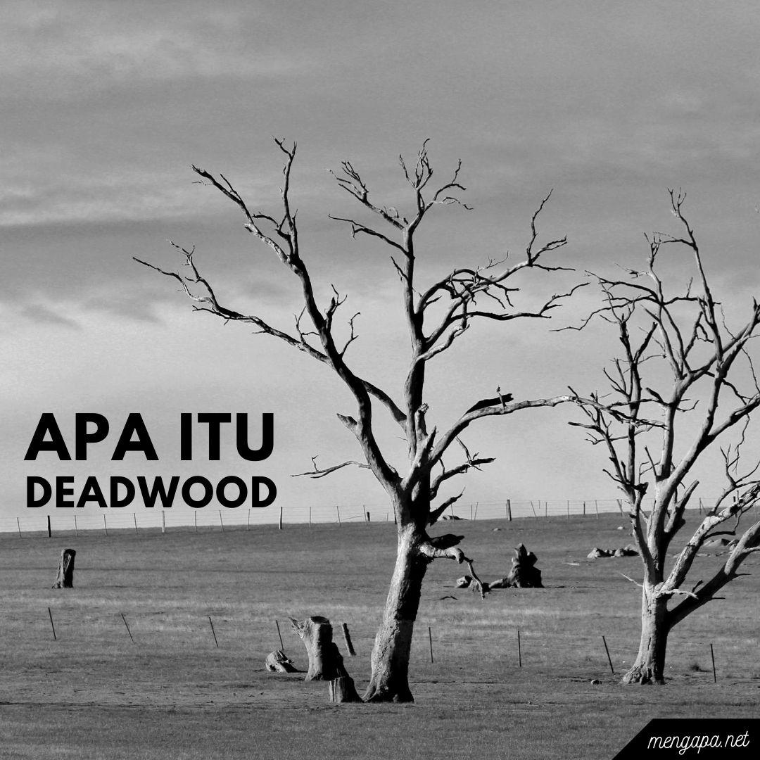 apa itu deadwood artinya - arti deadwood adalah