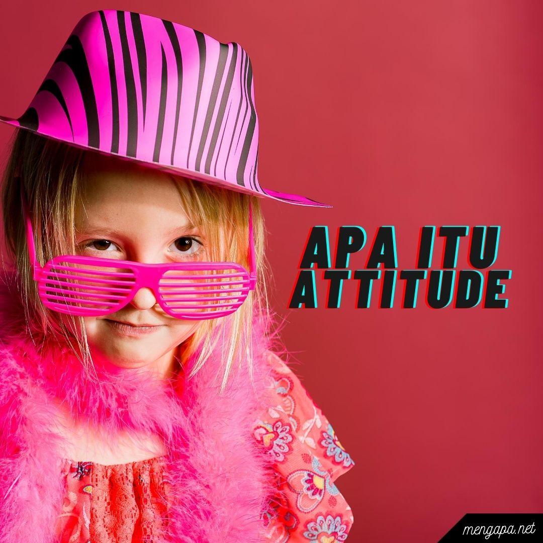 apa itu attitude artinya - arti attitude adalah